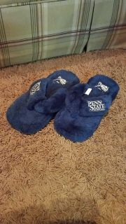 Penn State size 7.5 slippers