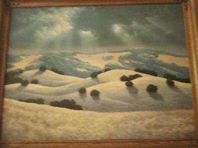 Rod Bearcloud Berry original painting