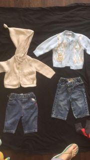 BABY BOYS CLOTHING 6-9 MONTHS