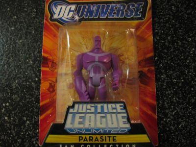 justice league...figure parasite..new