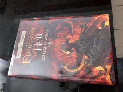 Signed Elminster in Hell hardback book