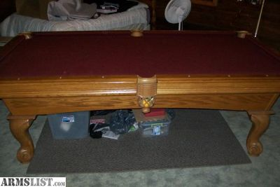For Sale/Trade: Pool Table