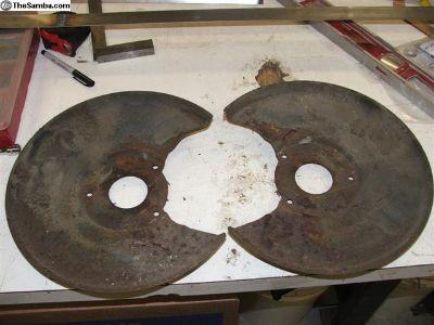 bay window backing plates