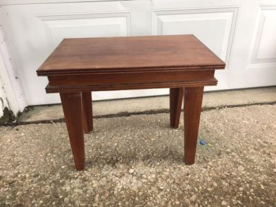 Nice solid end side table