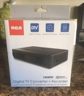 New Digital TV Converter and Recorder