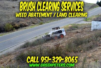 Brush Land Clearing Services Riverside