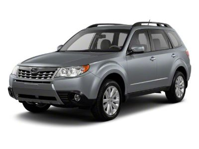 2013 Subaru Forester 2.5X Limited (Ice Silver Metallic)