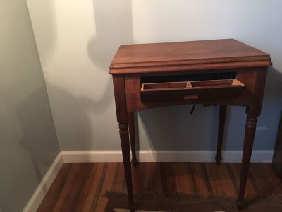 1947 Singer Sewing Table