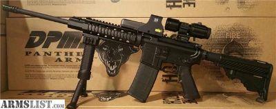 For Sale: AR15 DPMS w/ Eotech 512 5x Magnifier Vector Optics Quad Rail ar15 5.56 Rifle ar15 5.56 ar15