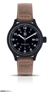 For Sale: Smith & Bradley Springfield PVD Watch Tan Cordura Strap BSSPVDTAN