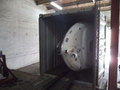 Buy Sea Ray 16' - 27' boat export inside ocean container motorcycle in Miami, Florida, United States
