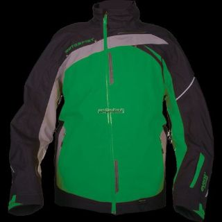 Sell Motorfist Mens Trophy Jacket - Black/Green/Gray motorcycle in Sauk Centre, Minnesota, United States, for US $349.99