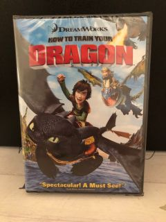 NIP Dreamworks DVD How to Train Your Dragon