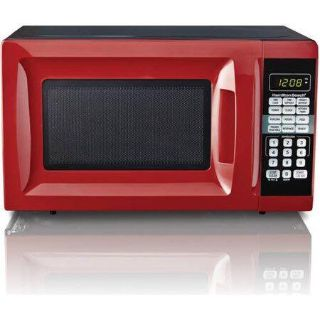 Hamilton Beach 0.7 Cu. Ft. Microwave Oven, Red