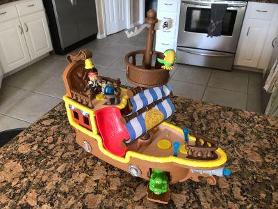 Jake and the Neverland Pirates - Jake s musical pirate ship