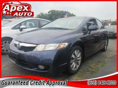 2009 Honda Civic EX (Royal Blue Pearl)