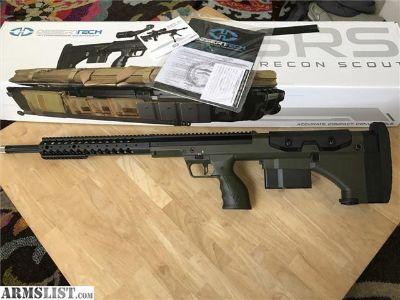 For Sale: Desert Tech SRS A1 6.5x47 Lapua OD Green LNIB