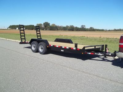2018 equipment trailer 20 ft 14k equipment