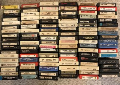 Over 100 8 tracks for sale ALL TESTED & WORKING TODAY ONLY $300 takes them all!