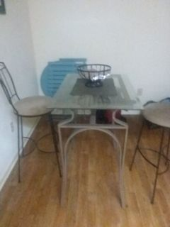 table and wine rack