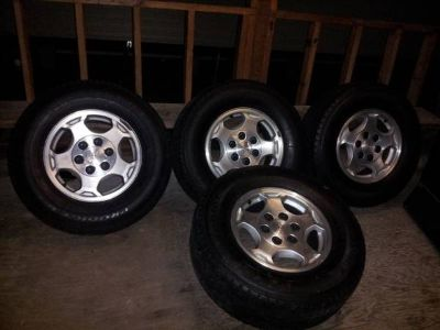 16 factory chevy wheels and tires