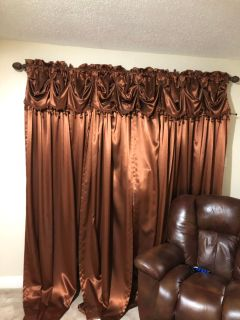 Full set of Curtains and Valances