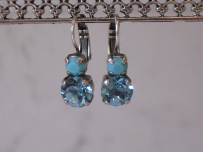 Mariana Swarovski Medium Crystal Earrings-Bliss Collection