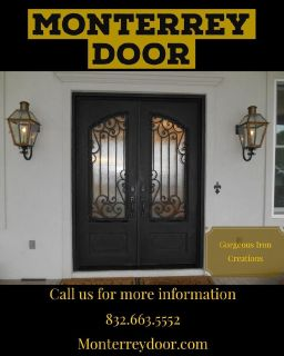 Gorgeous Iron Doors