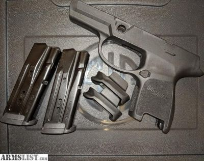 For Sale: Sig P320 Subcompact Grip Module and Magazines