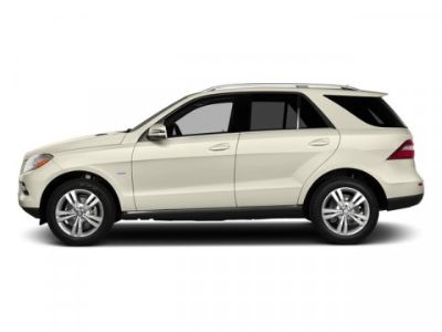 2015 Mercedes-Benz M-Class ML350 4MATIC (designo Diamond White Metallic)
