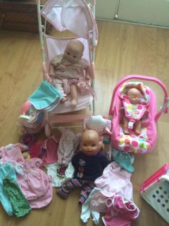 Baby dolls and accessories