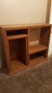 Solid Wood Entertainment Center
