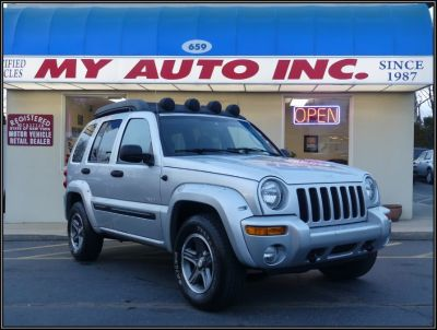 2004 Jeep Liberty Renegade (Bright Silver Metallic)