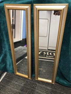 HOME INTERIORS MIRRORS (BUY 1 OR BOTH)