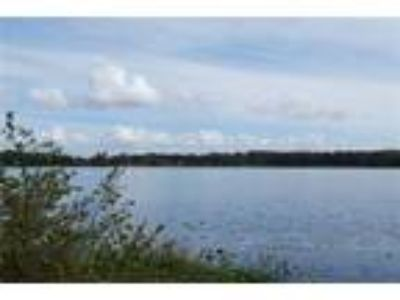 Enjoy this lake unity waterfront beautiful lot