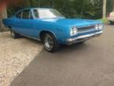 1968 Plymouth Sport Satellite Big Block 4 Speed