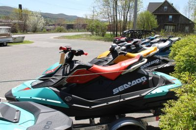 2018 Sea-Doo Spark 2up Trixx iBR 2 Person Watercraft Adams, MA