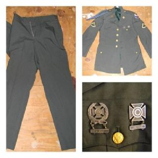 $100 OBO World War 2 army jacket and pants for sale. $100.00 for both