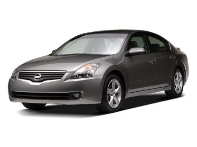 2009 Nissan Altima 2.5 (Winter Frost Pearl)