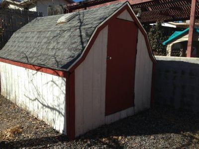 garden shed 9' x 12' x 8' tall