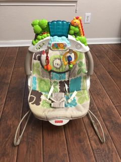 Fisher Price bouncer - perfect, like new condition