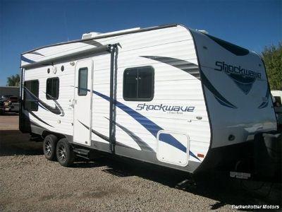 2013 Forest River ShockWave T21FQ mX Toy hauler