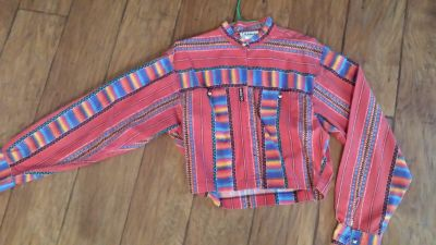 Western Crop Top, Size Medium, Banjo