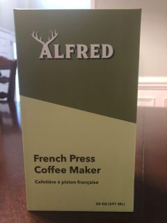 Alfred But First Coffee French press