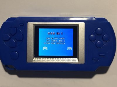 268 Games in 1 Battery Operated