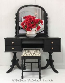 Vintage Vanity with bench