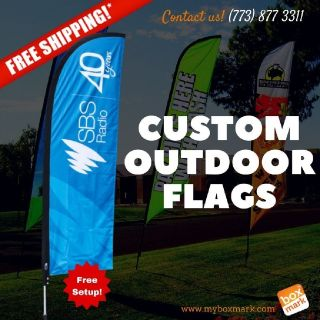 custom outdoor flags          | Boxmark