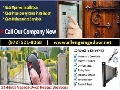 Affordable Gate Opener Repair | only on starting $26.95 | Allen TX