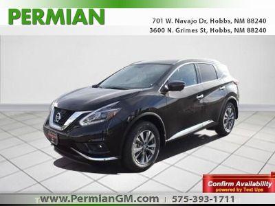 2018 Nissan Murano SL (Magnetic Black Metallic)