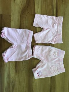 Preemie pants lot